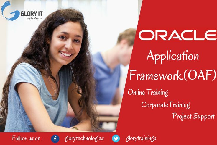 Glory IT Technologies is offering Oracle Application Framework (OAF) online course by certified working professionals. Oracle Application Framework is developed by Oracle Corporation for application development within Oracle E-Business Suite (EBS). OAF is available to customers for personalization, customization and custom-application development.
