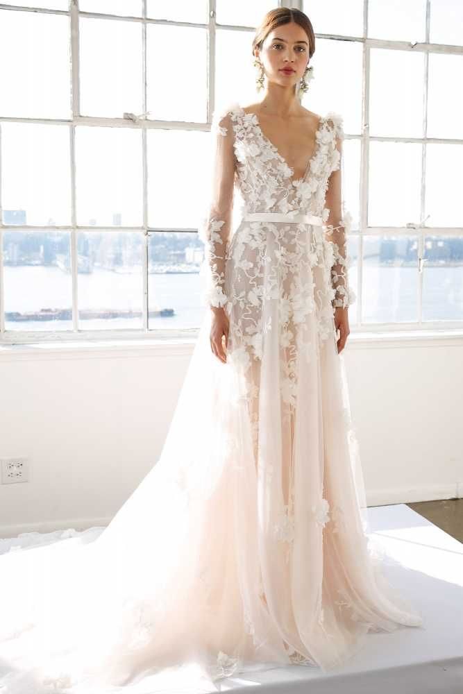 The Most Breathtaking Wedding Dresses From Bridal Fashion Week | Fashion, Trends, Beauty Tips & Celebrity Style Magazine | ELLE UK