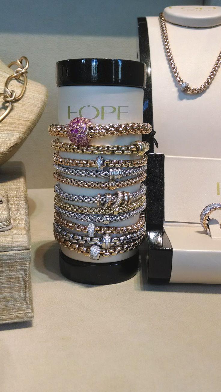 Stunning FOPE bracelets