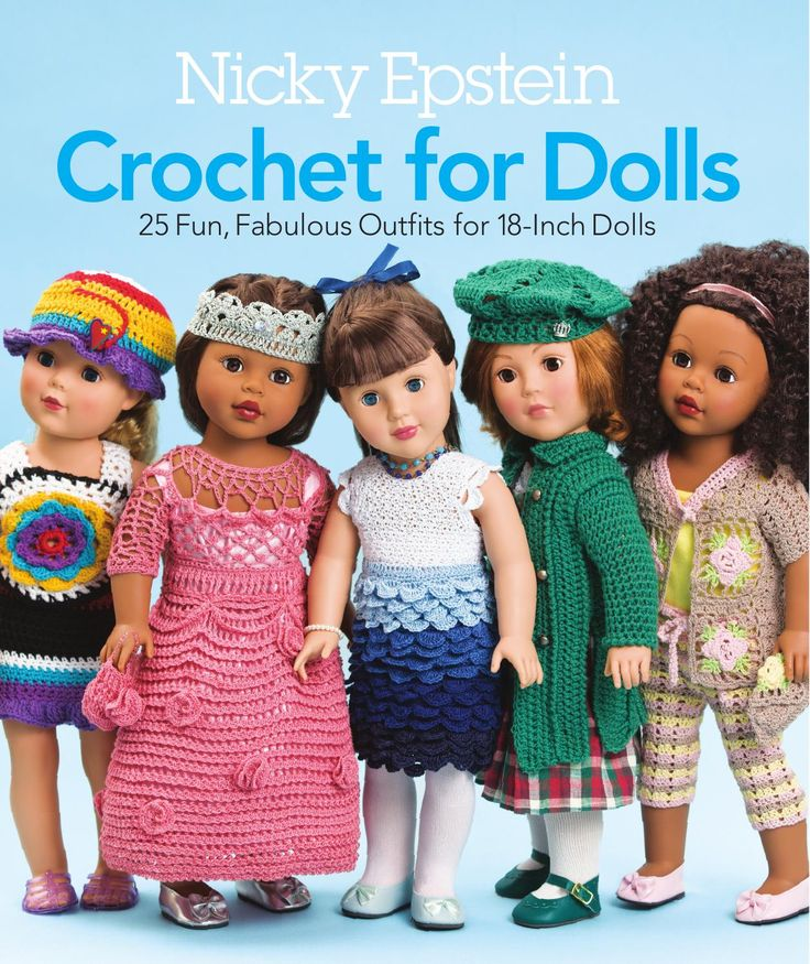 ISSUU - Nicky Epstein Crochet for Dolls by Sixth&Spring Books