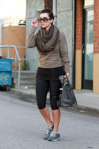 Sweaty But Stylish - Celebrities' Designer Gym Bags - StyleBistro