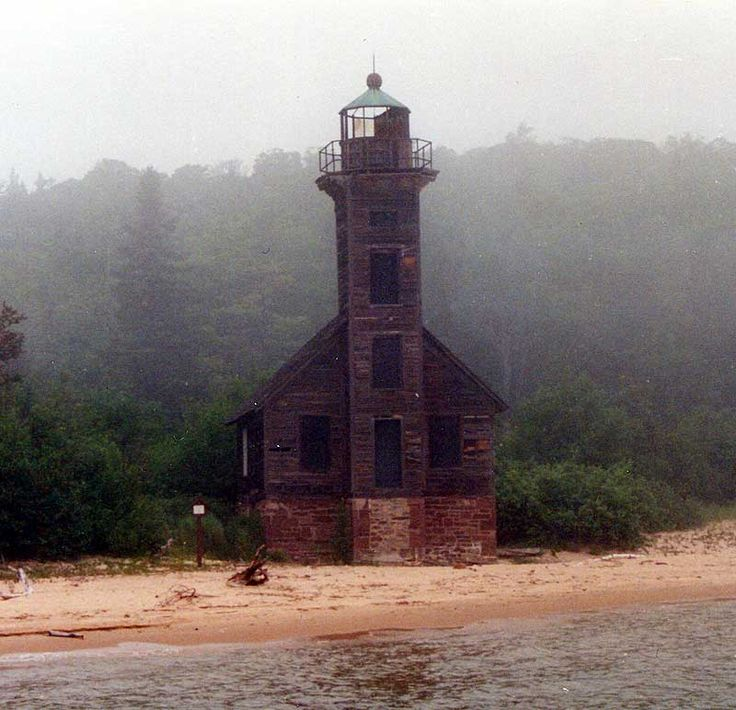 Grand Island East Chanel Light on Lake Superior