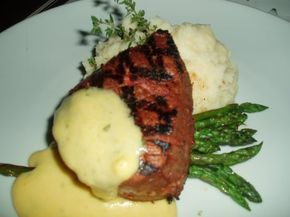 FILET MIGNON with Bernaise Sauce Ruth's Chris Steakhouse Copycat Recipe Serves 4 1/2 cup unsalted butter 2 tablespoons tarragon vi...