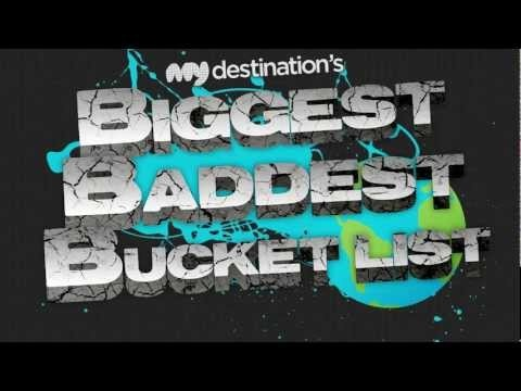 Pretty Awesome!! --> Biggest, Baddest, Bucket List   Six Months. Six Continents. Your choice of destinations.... via @My Destination