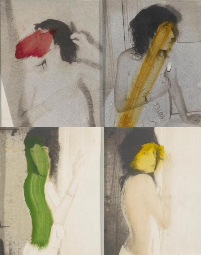 Polaroids by Robert Mapplethorpe  1973