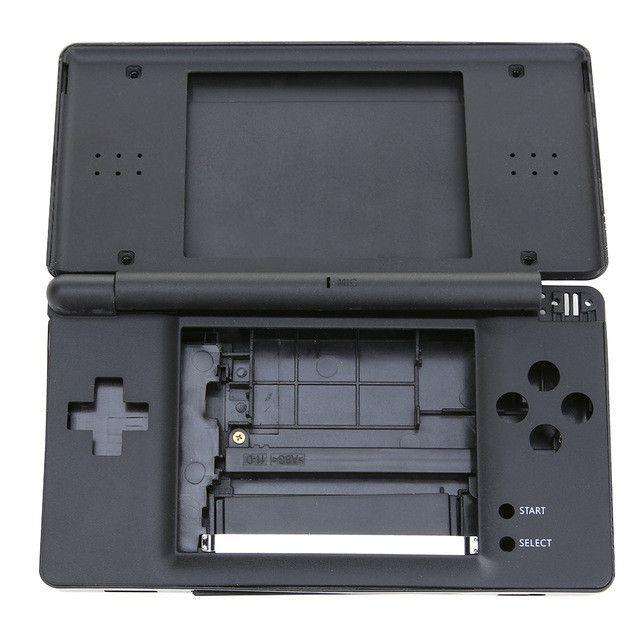 Factory Price Black/White Full Repair Parts Replacement Housing Shell Case Kit For Nintendo DS Lite NDSL