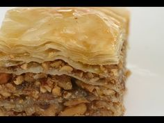 How To Make Baklava - It's Easy To Make This Delicious Greek Dessert By Rockin Robin - YouTube