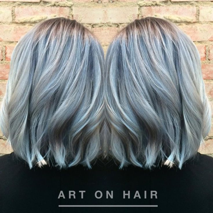 TRANSFORMATION: Platinum To Gun Metal Silver | Modern Salon