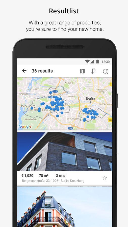 Immobilien Scout24- screenshot