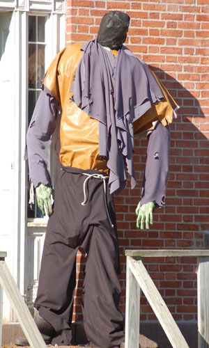 Scarecrow pictures can provide you with Halloween decorating ideas for your own yard. Don't use the same display every year; view my photos for fresh ideas.
