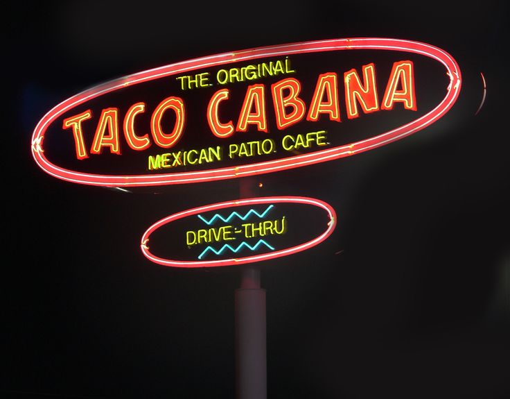 taco cabana I miss you already!