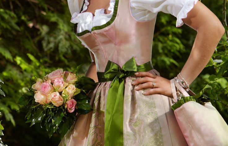 Brautdirndl von Susanne Spatt von höchster Qualität