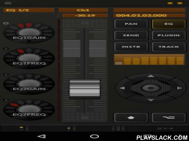 TouchDAW Free  Android App - playslack.com ,  Demo version of TouchDAW, a full-featured DAW controller with some general purpose MIDI tools. Lets you remote control popular digital audio workstation software as known from standard hardware control surfaces.This is a MIDI controller! The app does not itself play or record audio! Supports Cubase / Nuendo, Live, Logic, Pro Tools, Sonar, FL Studio, REAPER, Reason, Studio One, Samplitude, SAWStudio Digital Performer (7.2+), Vegas / Acid…