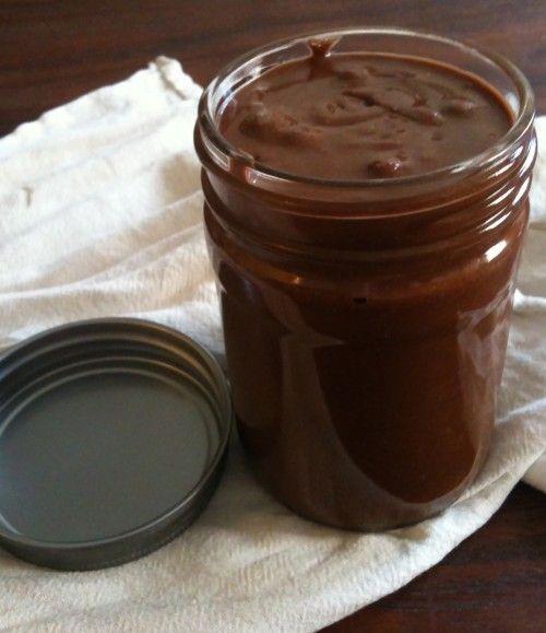 Dairy free homemade nutella.
