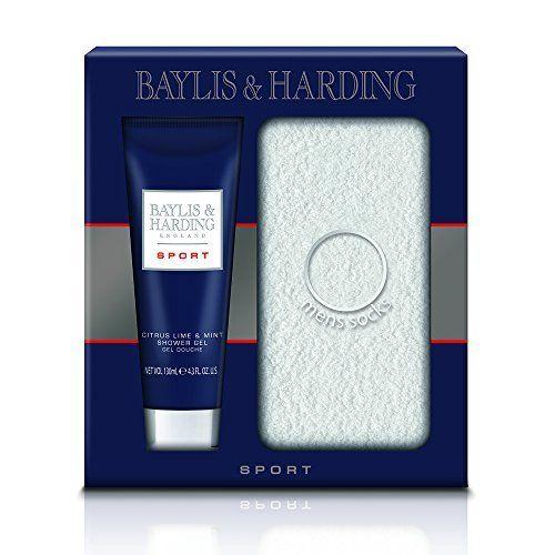Baylis & Harding Coffret Cadeau Homme Duo Sport Bain et Bien-être, Citron et Menthe: Allure Embrassez la brise de l'océan à travers votre…