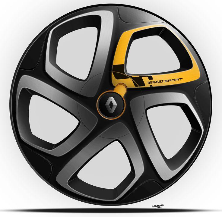NemoDesignUmeå: Renault Twingo Facelift - Alloy Wheel Workshop