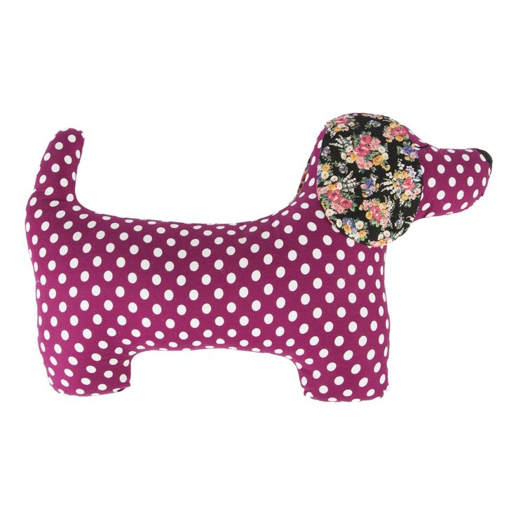 Sass & Belle Cushion available in two colours #cute #gift #dog #cushion