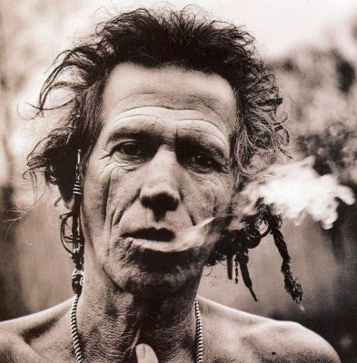 Keith Richards Fotografato Da Annie Leibovitz