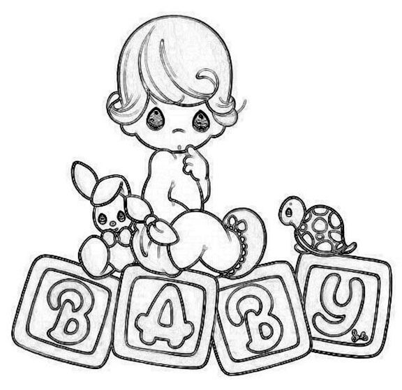 Precious Moments Baby Coloring Pages Coloring Pages
