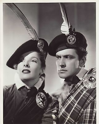 KATHERINE HEPBURN & FREDRIC MARCH VINTAGE 8X10 MARY OF SCOTLAND 1936 EXCELLENT