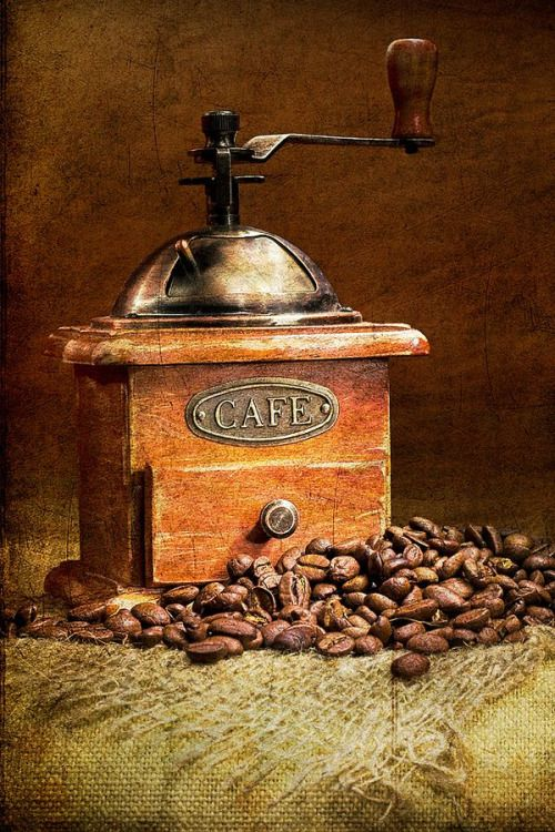 "thegiftoffood: "" Coffee mill by Alexander Nerozya """