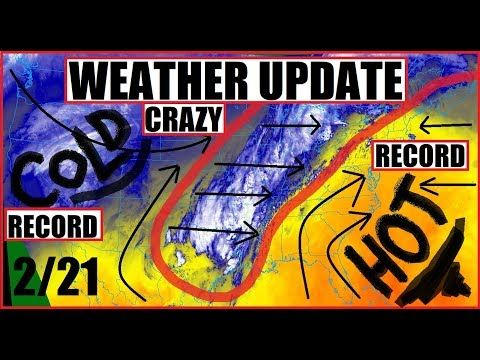 (90) *WEATHER UPDATE* BIPOLAR Season MORE Record HIGHS and LOWS - YouTube
