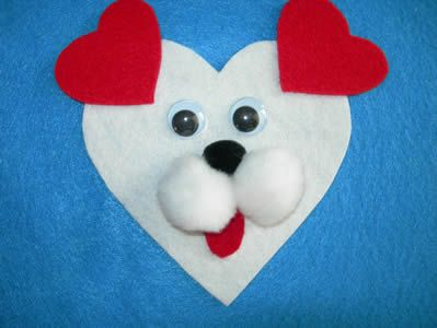 Dog magnet ~ possibly alter ears to brown or black and a floppy shape