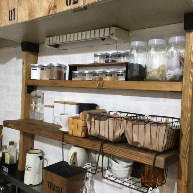 megmilkさんの、DIY,ディアウォール,キッチン,のお部屋写真