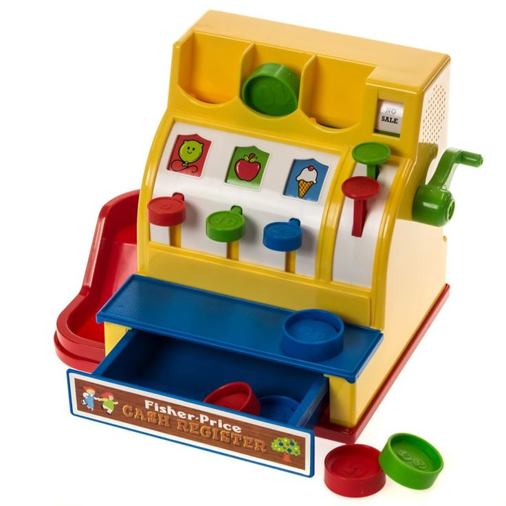 Fisher-Price Classic Cash Register | Toys Games  - Cracker Barrel Old Country Store