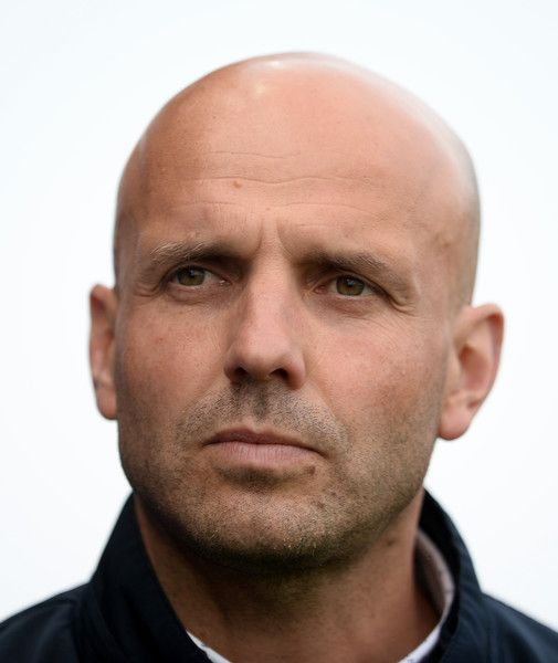 Paul Tisdale Photos Photos - Paul Tisdale, Manager of Exeter City during the Sky Bet League Two Play off Semi Final Second Leg match between Exeter City and Carlisle United at St James Park on May 18, 2017 in Exeter, England. - Exeter City v Carlisle United - Sky Bet League Two Play Off Semi Final: Second Leg