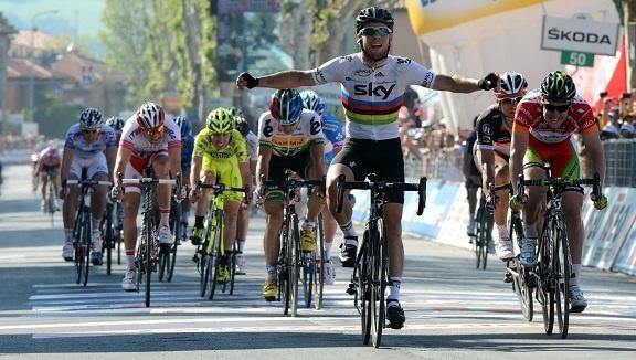 Cavendish winning in Fano