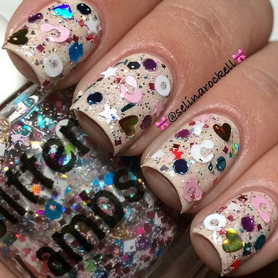 21 best Cotton Candy Bubble Bath Glitter Lambs Nail Polish images on ...
