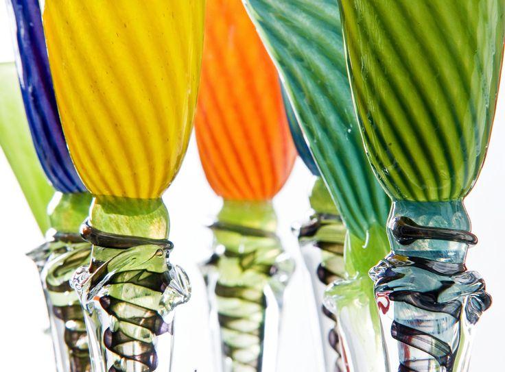 Art glass by Knapstad glass #kunstglass #blownglass #kristiansand #handmade #art