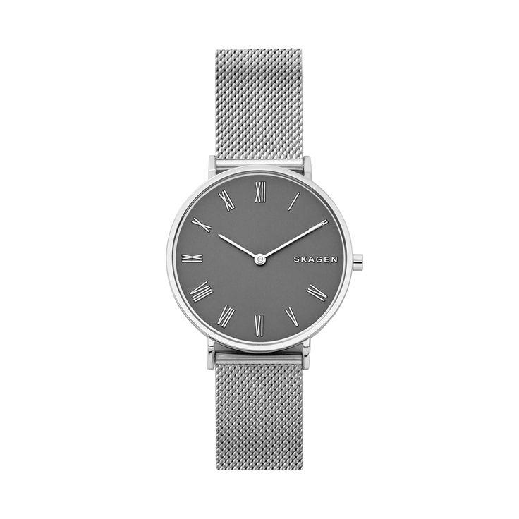 Nice Buy Skagen Hald Steel Mesh Bracelet Watch, Silver for £155.00 just added...