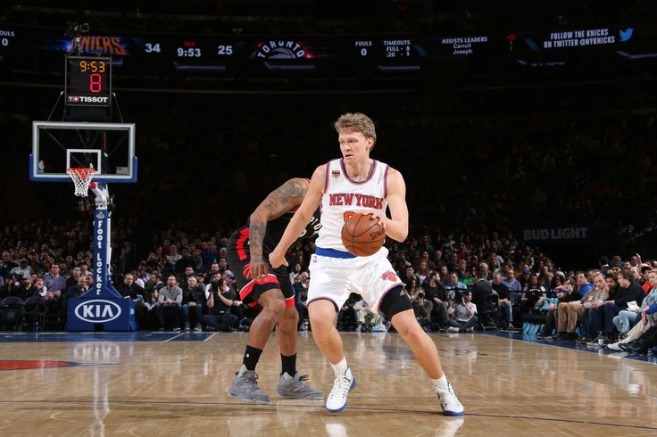 The New York Knicks have parted ways with small forward Mindaugas Kuzminskas. The move was executed in order to clear a roster spot for Joakim Noah. The Ne...