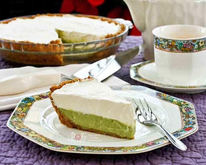 Pandan Cream Pie