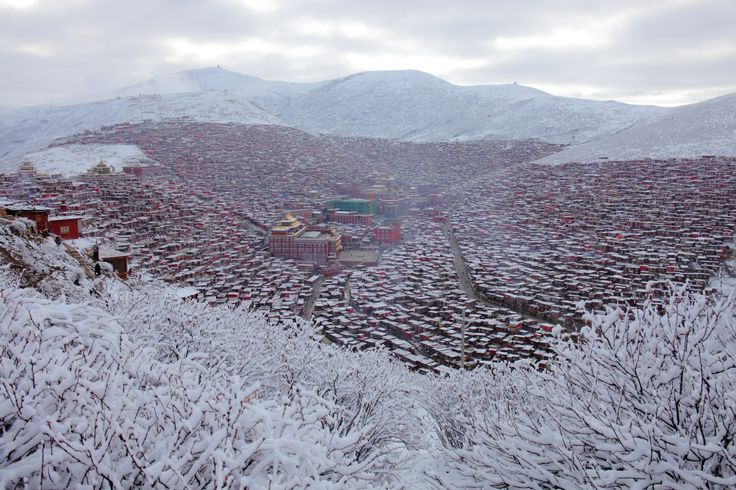 Larung Valley snow - ค้นหาด้วย Google