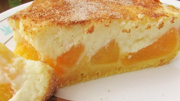 Superb Peaches And Cream Pie. Daily Simple Recipes For Everyone