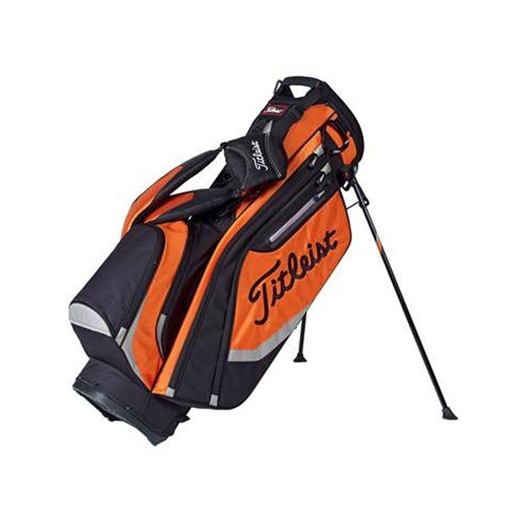 TITLEIST - Sac de golf trépied Lightweight noir et orange