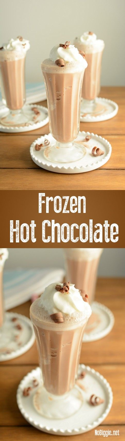 Best 25+ Frozen hot chocolate ideas on Pinterest | Summer ...