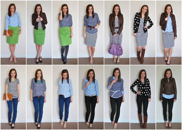 8 Pieces, 14 outfits
