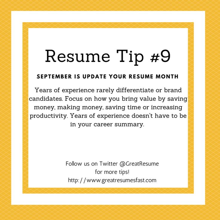 64 best 2017 Resume Tips images on Pinterest Resume tips - great resumes fast