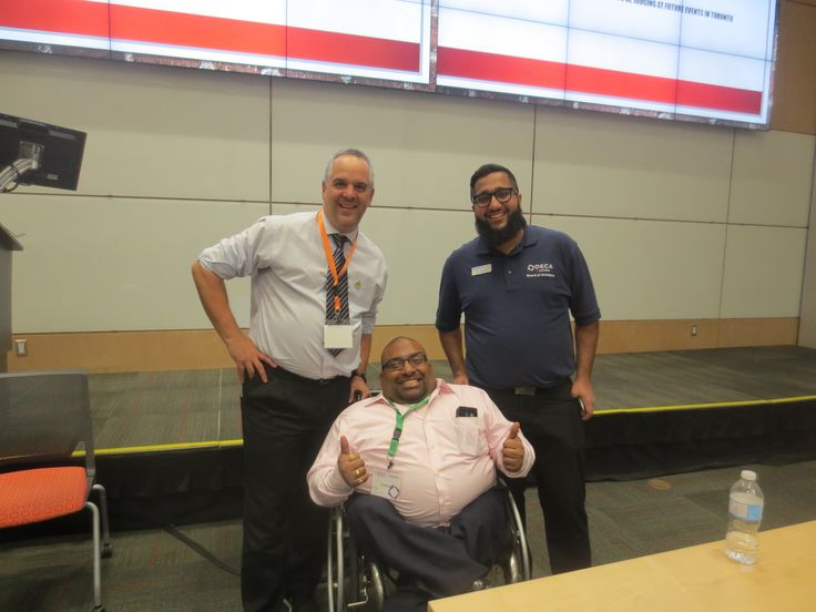 Jim Pagiamtzis, Sujit Reddy and Umair Ashair at DECA event Seneca college on Sunday Nov 13,2016