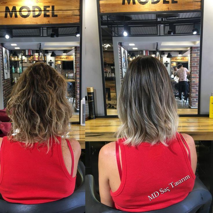 Ombre ❤❤ #ombre #ombrebalyaj #ombré #sombre #hair #hairstyle #hairstyler #stil #fashion #hairdesign #hairtransformation #degisim #newhair #hairdresser #mdsactasarim #efsanesaclar @mdmetindemir