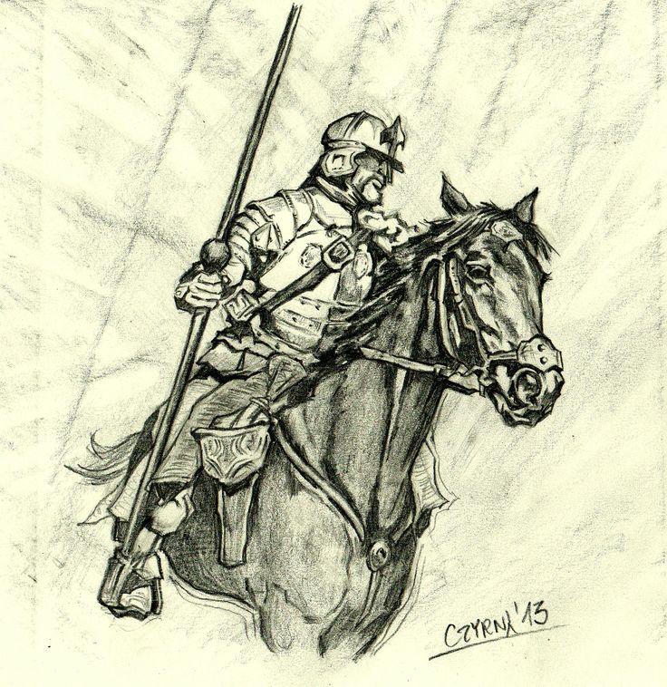 Husarz-szkic