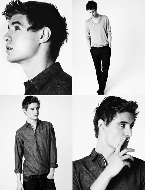Max Irons - only the son of Jeremy Irons. <3