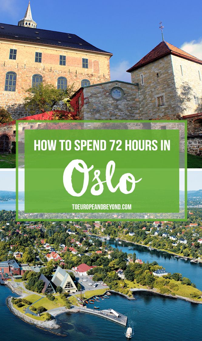 City guide: long weekend in Oslo #travel http://toeuropeandbeyond.com/how-to-spend-72-hours-in-oslo/