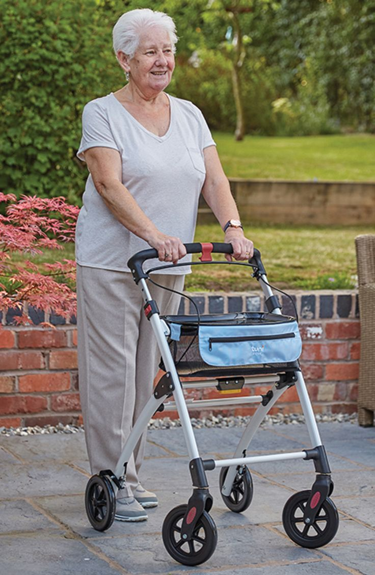 The Tuni Nova Rollator is ideal for use indoor if you struggle to get around the home.