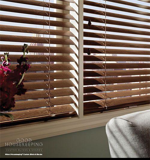 Good Housekeeping™ Wood Blinds
