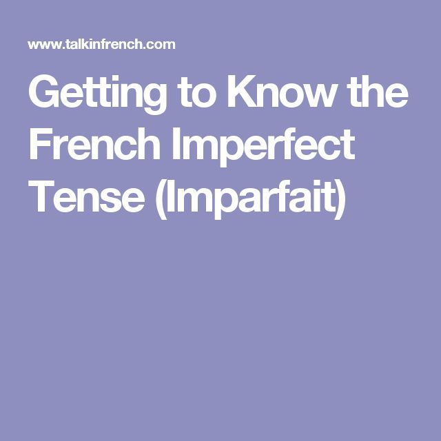 how to say im a french tutor in french